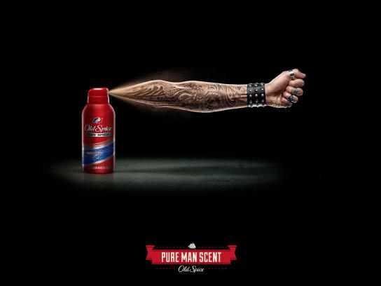 Old Spice Print Ad -  Arms, Rocker