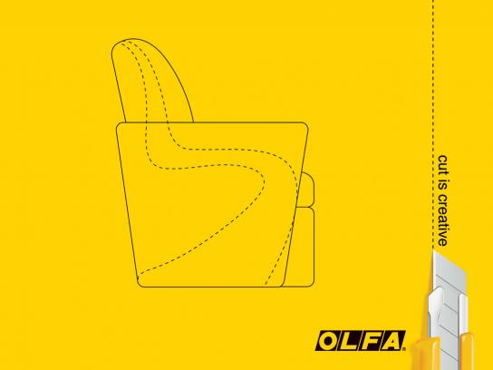 Olfa Print Ad -  Chair