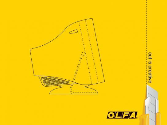 Olfa Print Ad -  Monitor