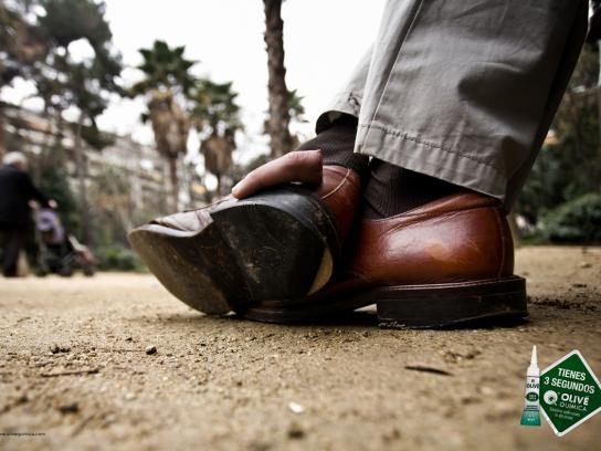 Olive Print Ad -  Shoe