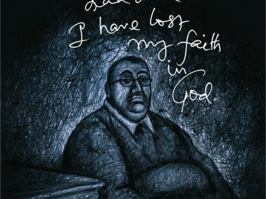 Olympia Gym Print Ad -  Faith