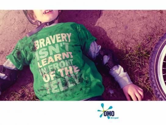 OMO Print Ad -  Bravery