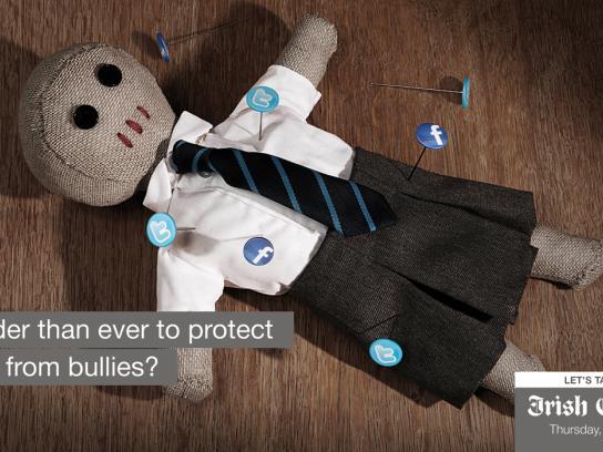 Irish Examiner Outdoor Ad -  Online Bullying