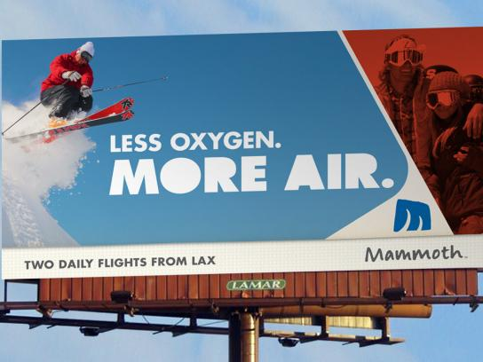 Mammoth Mountain Ski Resort Outdoor Ad -