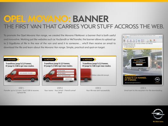 Opel Digital Ad -  Movano File Mover