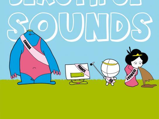 Open Source Festival Print Ad -  Beautiful sounds