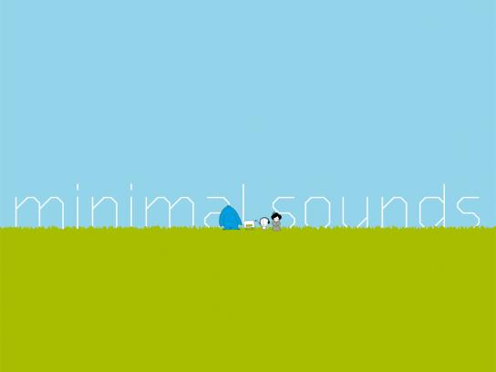 Open Source Festival Print Ad -  Minimal sounds