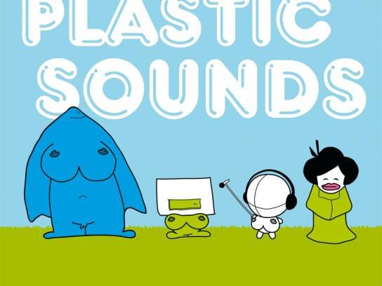 Open Source Festival Print Ad -  Plastic sounds