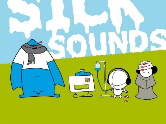 Open Source Festival Print Ad -  Sick sounds