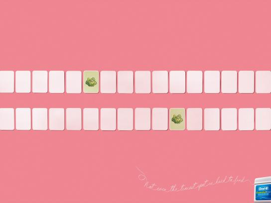 Oral-B Print Ad -  Salat