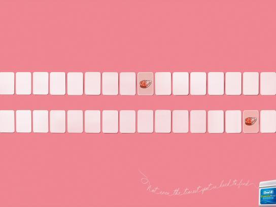 Oral-B Print Ad -  Meat