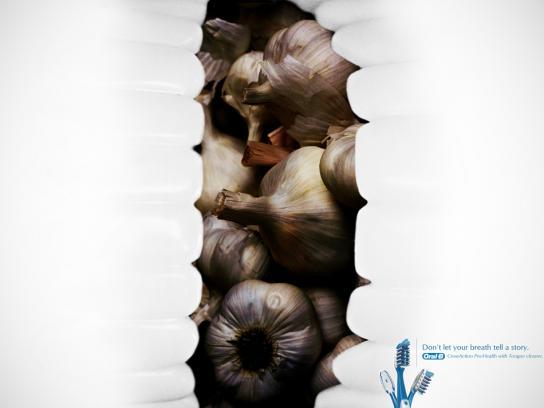 Oral-B Print Ad -  Onions