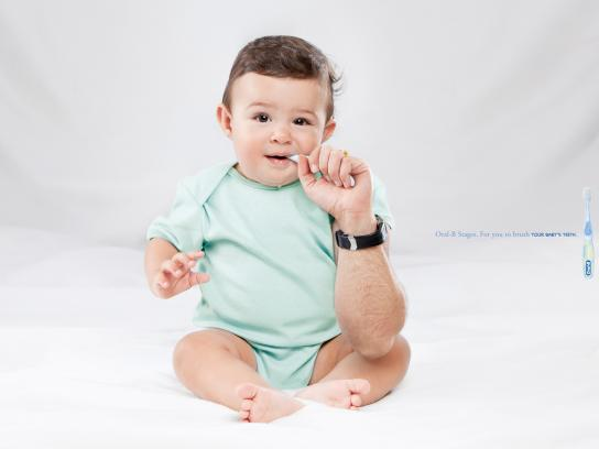 Oral-B Print Ad -  Babies, 3