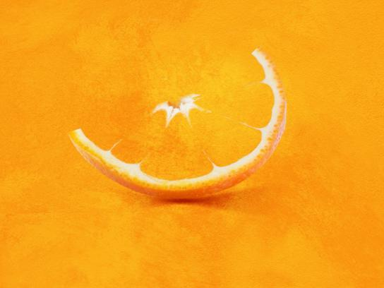 Dyrup Print Ad -  Orange color