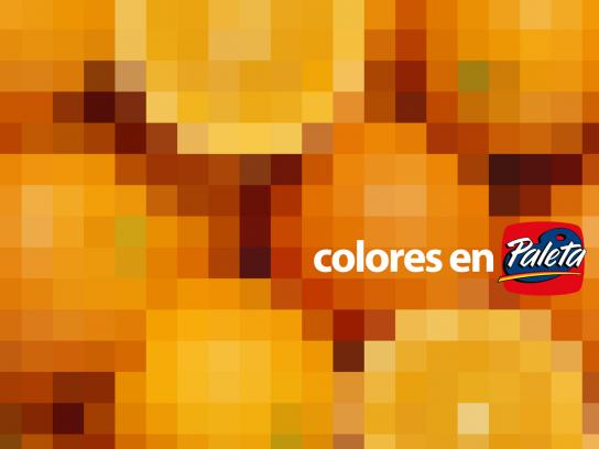 Paleta Print Ad -  Orange