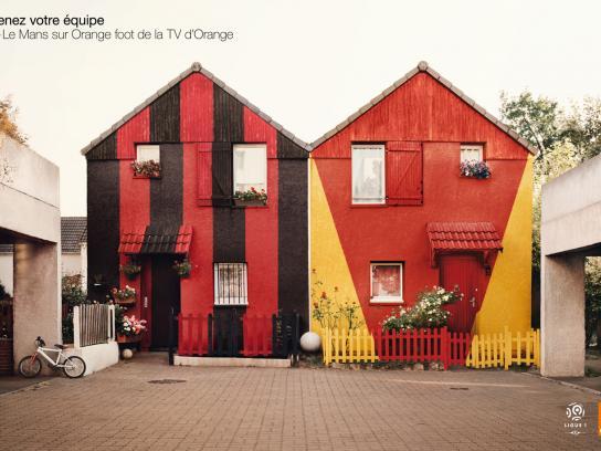 Orange Print Ad -  House