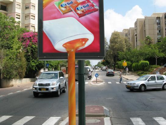 Orbit Ambient Ad -  Juicy, 1