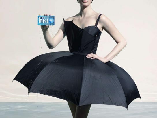 Orbit Print Ad -  Umbrella