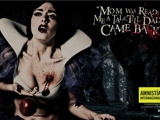 Amnesty International Print Ad -  Snow White