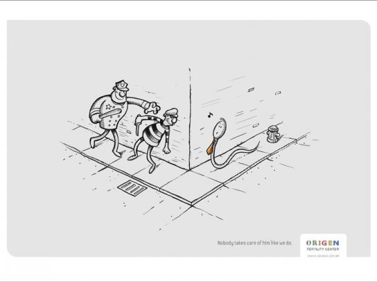 Origen Print Ad -  Thief
