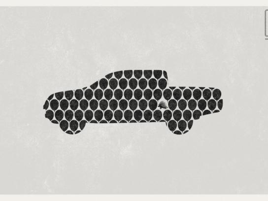 Mitsubishi Print Ad -  Porcupine