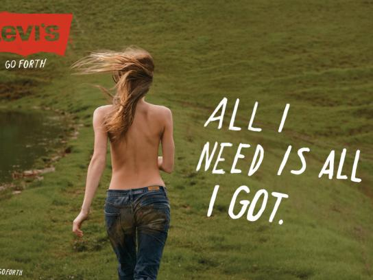 Levi's Print Ad -  All I need