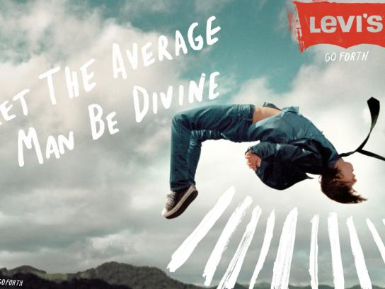 Levi's Print Ad -  Average