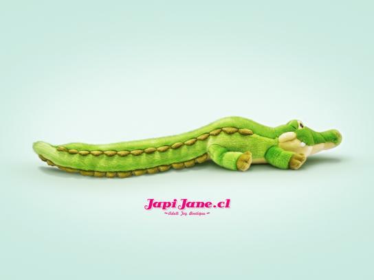 Japi Jane Print Ad -  Crocodile