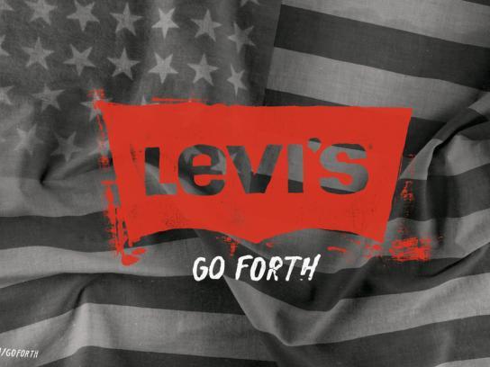 Levi's Print Ad -  Flag