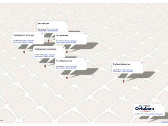 Ortobom Mattresses Print Ad -  Kama Sutra