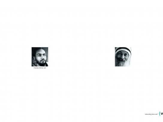 Water Print Ad -  Osho