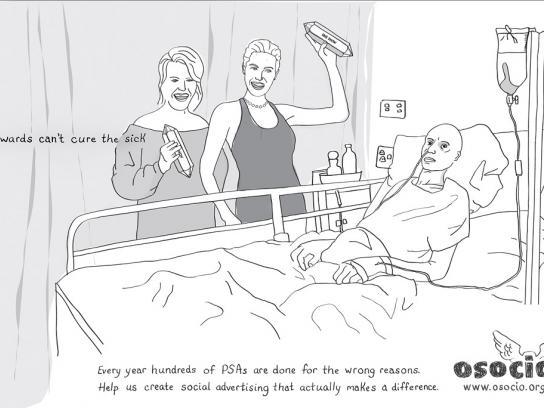 Osocio Print Ad -  Hospital