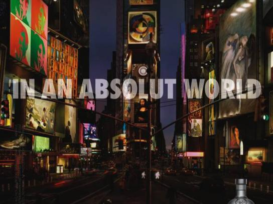 Absolut Print Ad -  Outdoor