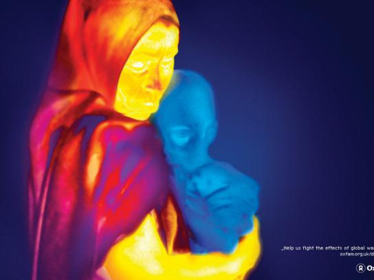 Oxfam Print Ad -  Thermal Imaging, 2