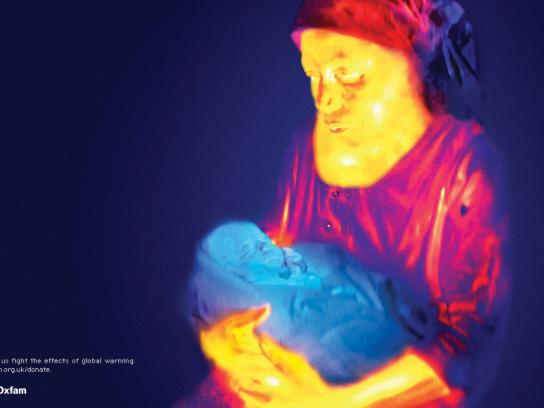 Oxfam Print Ad -  Thermal Imaging, 1