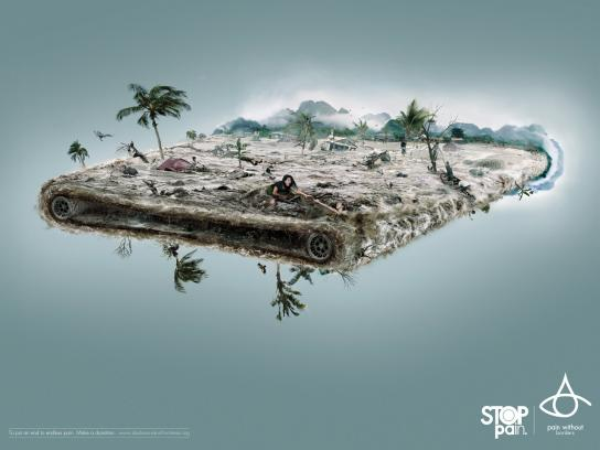 Pain Without Borders Print Ad -  Indonesia
