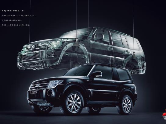 Mitsubishi Print Ad -  Full 3D