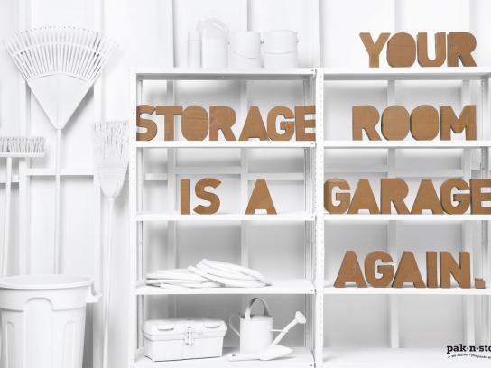 pak-n-stor Print Ad -  Garage