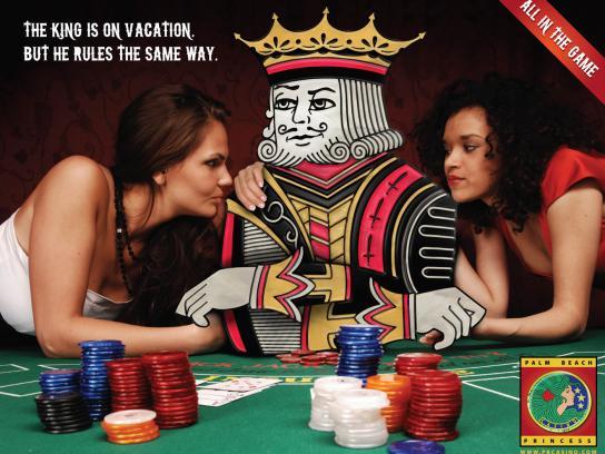Palm Beach Princess Print Ad -  King