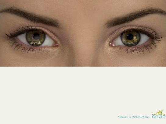 Pampers Print Ad -  Laptop