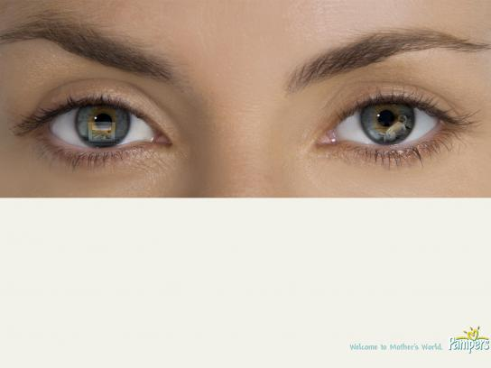 Pampers Print Ad -  TV