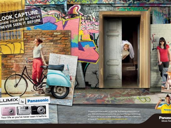 Panasonic Print Ad -  Grafitti