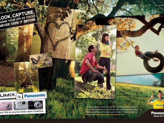 Panasonic Print Ad -  Life