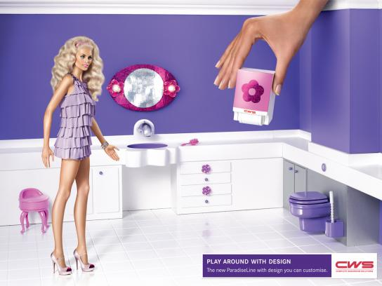 CWS Print Ad -  Purple