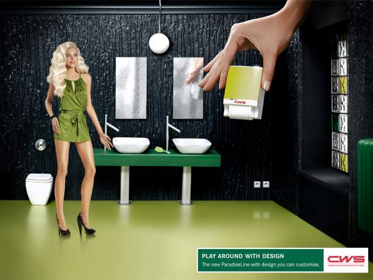 CWS Print Ad -  Green