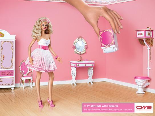 CWS Print Ad -  Pink