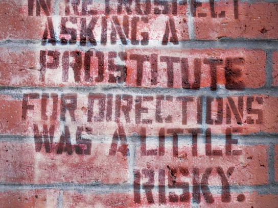 Pardons Direct Print Ad -  Prostitute