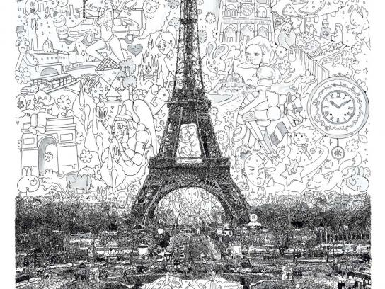 Expedia Print Ad -  Paris