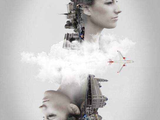 TAM Airlines Print Ad -  Paris / São Paulo