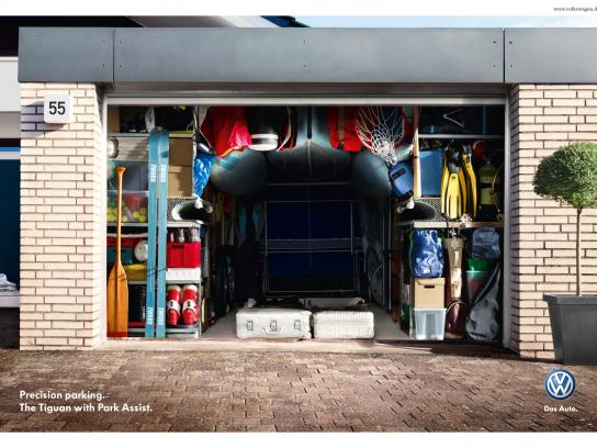 Volkswagen Print Ad -  Parking Precision, Sports